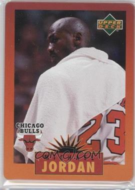1996 Upper Deck Metal Michael Jordan Tin Set Red/Orange Border #4 - Michael Jordan