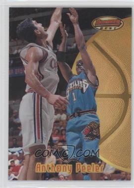 1997-98 Bowman's Best - [Base] - Refractor #64 - Anthony Peeler
