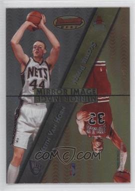 1997-98 Bowman's Best - Mirror Image #MI4 - Keith Van Horn, Scottie Pippen, Kobe Bryant, Cedric Ceballos