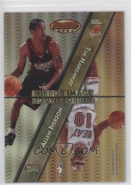 1997-98 Bowman's Best Mirror Image Refractor #MI3 - Allen Iverson, Tim Hardaway, Jason Kidd, Bobby Jackson