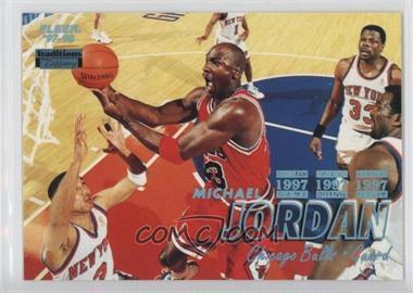 1997-98 Fleer - [Base] - Tiffany #23 - Michael Jordan
