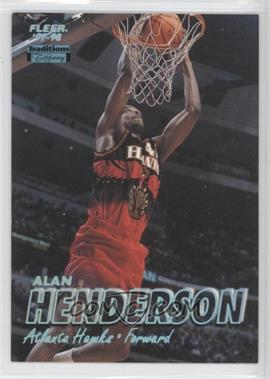 1997-98 Fleer - [Base] - Tiffany #257 - Alan Henderson