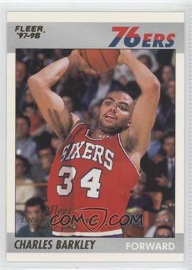 1997-98 Fleer Decade of Excellence #1 - Charles Barkley