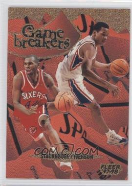 1997-98 Fleer Game Breakers #8 - Jerry Stackhouse, Allen Iverson