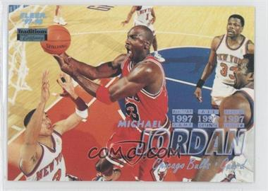 1997-98 Fleer Tiffany #23 - Michael Jordan
