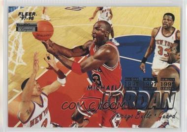 1997-98 Fleer Tiffany #23 - Michael Jordan