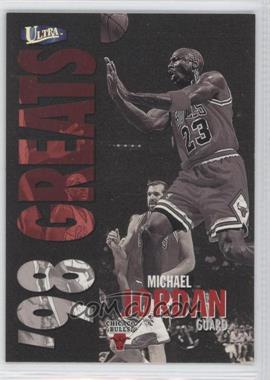 1997-98 Fleer Ultra - [Base] - Gold Medallion #259G - Michael Jordan