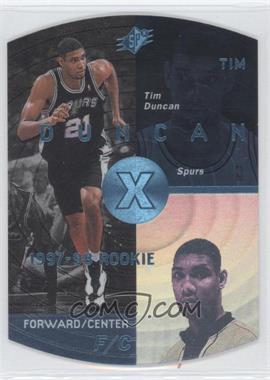 1997-98 SPx Sky #37 - Tim Duncan