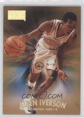 1997-98 Skybox Premium Bronze Reebok #100 - Allen Iverson