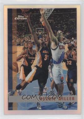 1997-98 Topps Chrome Refractor #24 - Reggie Miller