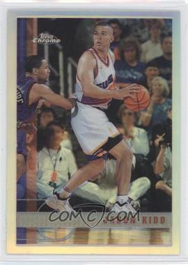 1997-98 Topps Chrome Refractor #49 - Jason Kidd