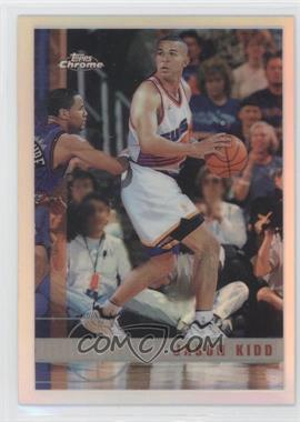1997-98 Topps Chrome Refractor #49 - Jason Kidd