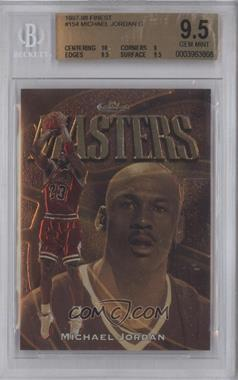 1997-98 Topps Finest - [Base] #154 - Michael Jordan [BGS 9.5]