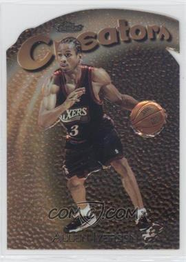1997-98 Topps Finest Embossed #320 - Allen Iverson