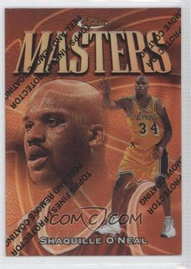 1997-98 Topps Finest Refractor #217 - Shaquille O'Neal