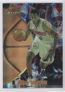 1997-98 Topps Stadium Club Bowman's Best Previews Atomic Refractor #BBP1 - Allen Iverson