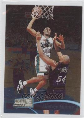 1997-98 Topps Stadium Club One of a Kind #20 - Lindsey Hunter /150