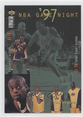 1997-98 Upper Deck Collector's Choice - [Base] #168 - Los Angeles Lakers Team