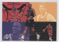 Chicago Bulls Starters (Michael Jordan, Dennis Rodman, Toni Kukoc, Ron Harper, …