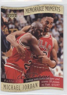 1997-98 Upper Deck Collector's Choice Memorable Moments #1 - Michael Jordan
