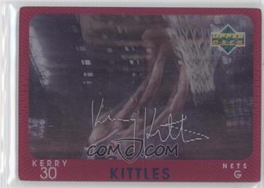 1997-98 Upper Deck Diamond Vision Signature Moves #S17 - Kerry Kittles
