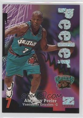1997-98 Z-Force Rave #27 - Anthony Peeler /399