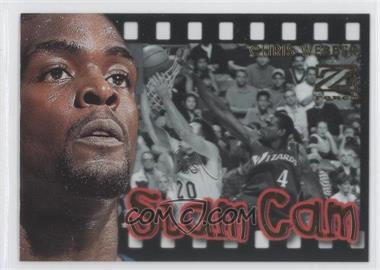 1997-98 Z-Force Slam Cam #12SC - Chris Webber
