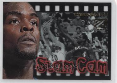 1997-98 Z-Force Slam Cam #12SC - Chris Webber
