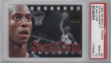 1997-98 Z-Force Slam Cam #4SC - Kevin Garnett [PSA10]