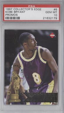 1997 Collector's Edge Impulse Promos #6-6 - Kobe Bryant [PSA 10]