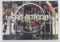 Tim Duncan, Glenn Robinson, David Robinson