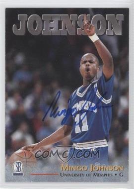 1997 Score Board Rookies Autographs [Autographed] #MIJO - Mingo Johnson