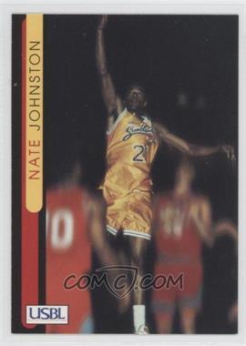1997 Sports Time USBL - [Base] #32 - Nate Johnston
