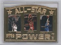 All-Star Power (Shawn Kemp, Michael Jordan, Anfernee Hardaway) /15000