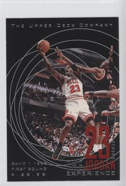 1997 Upper Deck 23 Nights The Jordan Experience 22 Kt Gold [???] #11 - Michael Jordan