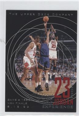 1997 Upper Deck 23 Nights The Jordan Experience 22 Kt Gold [???] #12 - Michael Jordan