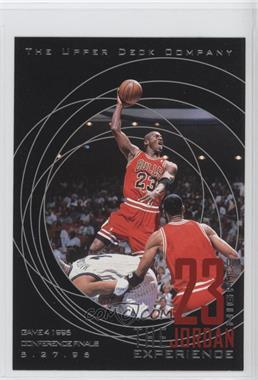 1997 Upper Deck 23 Nights The Jordan Experience 22 Kt Gold [???] #13 - Michael Jordan
