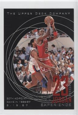 1997 Upper Deck 23 Nights The Jordan Experience 22 Kt Gold [???] #15 - Michael Jordan
