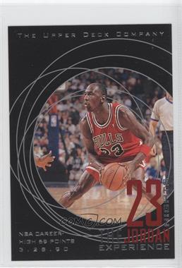 1997 Upper Deck 23 Nights The Jordan Experience 22 Kt Gold [???] #18 - Michael Jordan