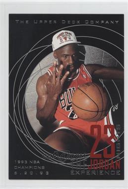 1997 Upper Deck 23 Nights The Jordan Experience 22 Kt Gold [???] #22 - Michael Jordan