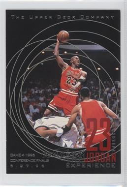 1997 Upper Deck 23 Nights The Jordan Experience #13 - Michael Jordan