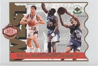 Utah Jazz Western Conference Champions '97 (John Stockton, Karl Malone, Jeff Ho…