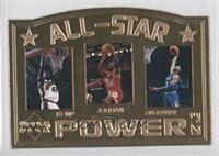 Shawn Kemp, Michael Jordan, Anfernee Hardaway /5000