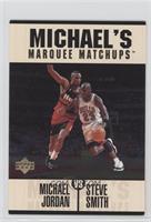Michael Jordan, Steve Smith