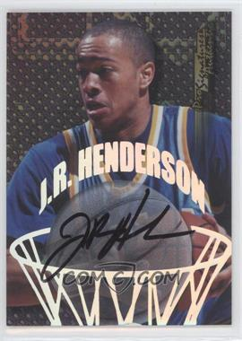 1998-99 Collector's Edge Impulse Pro Signatures Authentic [Autographed] #16.1 - J.R. Henderson (Black Ink)