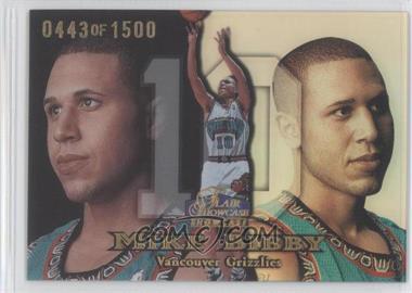 1998-99 Flair Showcase - [Base] - Row 1 #28 - Mike Bibby /1500