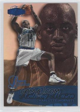 1998-99 Flair Showcase Legacy Collection Row 3 #72L - Anthony Mason /99