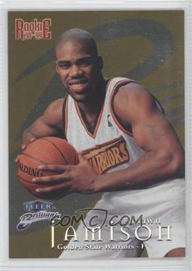 1998-99 Fleer Brilliants Gold #104G - Antawn Jamison /99