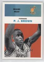 P.J. Brown /61