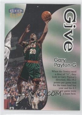 1998-99 Fleer Ultra Give & Take #1GT - Gary Payton